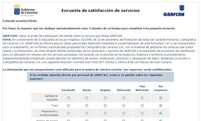 formulario encuesta satisfaccion cliente: