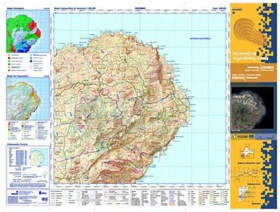 Mapa Topogr Fico 1 De Canarias En Pdf Grafcan