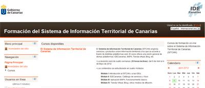 Sitio web de formación on-line del SITCAN