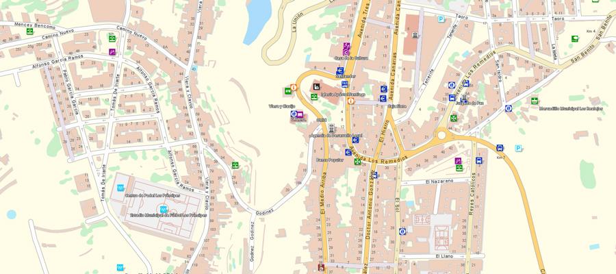 Callejero Mapa De Las Palmas.Actualizacion Del Mapa Callejero En Idecanarias Grafcan
