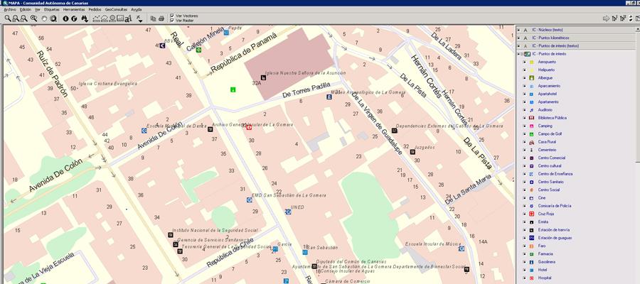 Callejero Mapa De Las Palmas.Actualizacion De La Vista Mapa Callejero En Mapa Grafcan