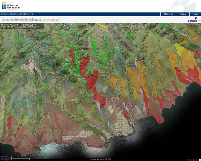 Mapas Tematicos Grafcan Mapas De Canarias